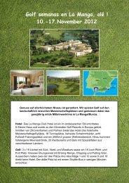 17.November 2012 - Golfpark Moossee