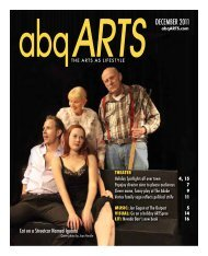 December 2011 – Theater - abqARTS