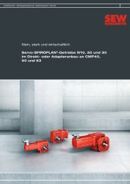 Servo-Spiroplan Getriebe - Download - SEW Eurodrive
