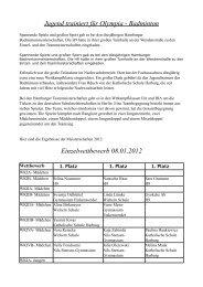 Bericht mit Ergebnissen (ca. 84kB) - Schulsport-Hamburg.de