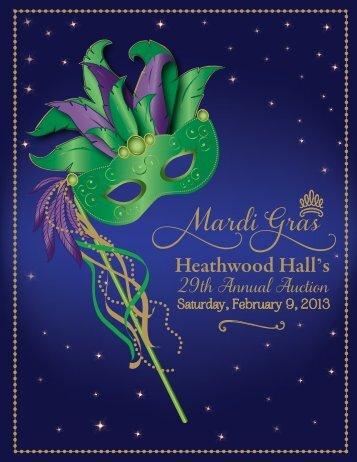 Auction Catalog - Heathwood Hall Episcopal School