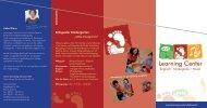 "Bilingualer Kindergarten ""Little Footprints"" - Learning Center Dachau"