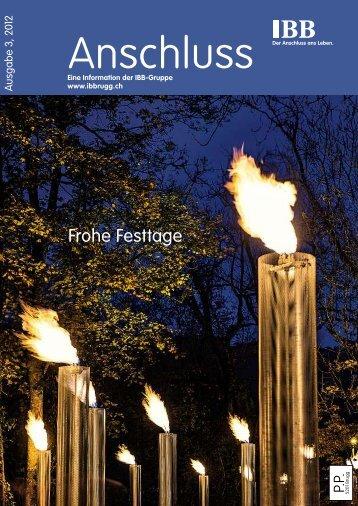 Anschluss 3/2012 - Industrielle Betriebe der Stadt Brugg