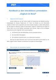 Englisch im Beruf - The European Business Seminar