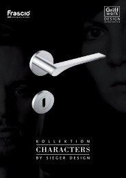 SIEGER Kollektion Characters - Frascio