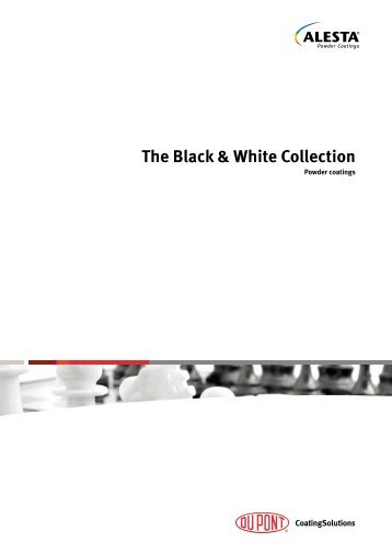 The Black & White Collection - DuPont CoatingSolutions