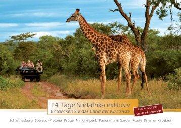 14 Tage Südafrika exklusiv - Humboldt Studienreisen