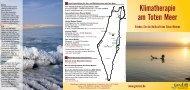 Klimatherapie am Toten Meer - Go Israel