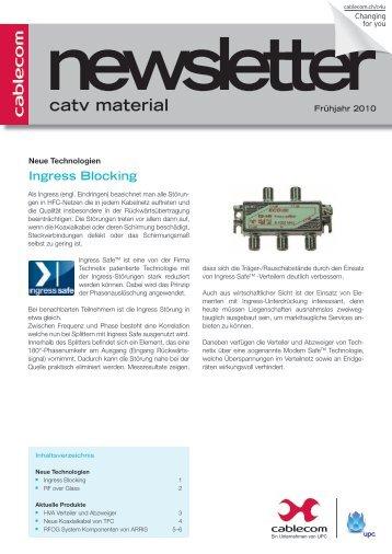 catv material