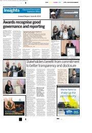 Business Day Supplement - Thursday 29 November 2012