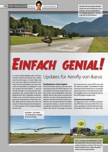 """Testbericht """"AFPD-AddOn3 und 4"""" aus FMT-Magazin - Ikarus"""