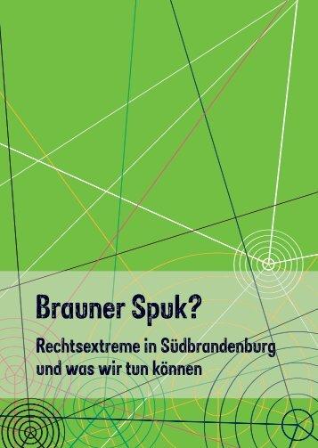 Brauner Spuk? - demos - Brandenburgisches Institut für ...