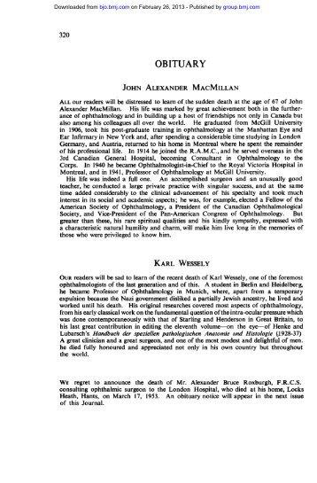 JOHN ALEXANDER MACMILLAN