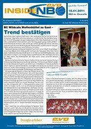 Trend bestätigen - New Basket 92 Oberhausen