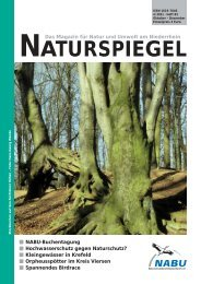 NATURSPIEGEL Heft 4 2011 - NABU Krefeld/Viersen