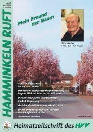 Hamminkeln Ruft, Ausgabe Nr. 45 - Juni 2006 - HVV Hamminkeln