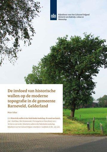 16 De invloed van historische wallen - Rijksdienst voor het Cultureel ...