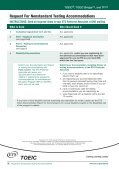 Guide for Test Takers with Disabilities - ETS - Page 6