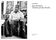 Exil Schweiz Tibeter auf der Flucht - Stiftung Bildung und Entwicklung