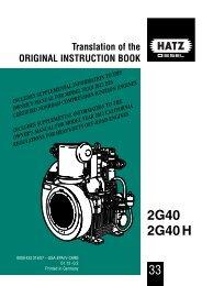 2G40 2G40 H - Hatz