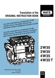 2W35 3W35 4W35 4W35T - Hatz