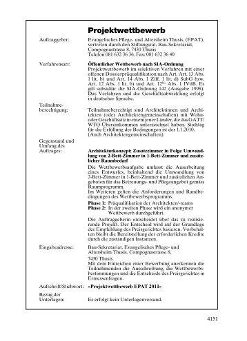 Projektwettbewerb - Competitionline