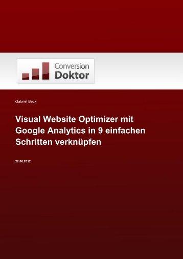 Google Analytics in 9 einfachen Schritten verknüpfen