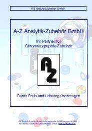 A-Z Analytik-Zubehör GmbH - AZ Analytik-Zubehör in Langen