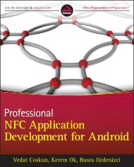 NFC Application Development for Android