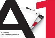 A1 Magazin 2010 Preise und Termine - Audi A1 eMag