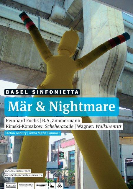 Programmheft (pdf) - Basel Sinfonietta