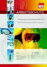 DE Arbeitsschutz Pr - Carl Roth