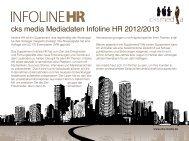 cks media Mediadaten Infoline HR 2012/2013