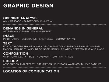 graphic design opening analysis - Depot 1