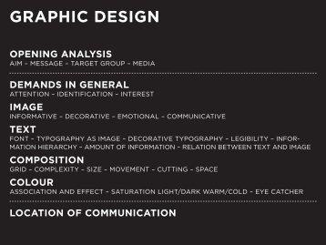 graphic design opening analysis - Depot 1