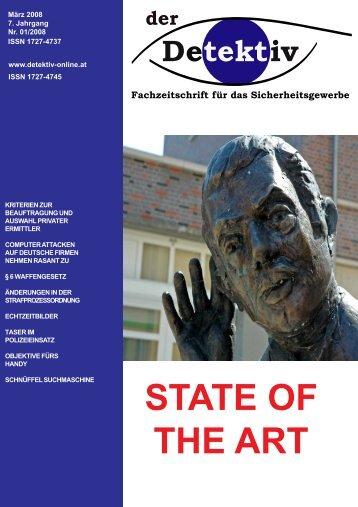 STATE OF THE ART - Der Detektiv