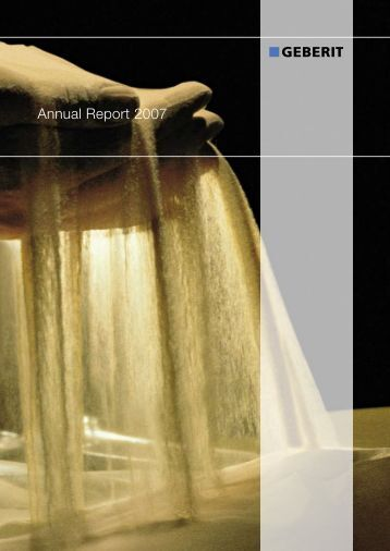 Annual Report 2007 - Cecodes