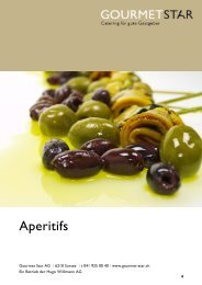 Aperitif - Gourmet Star