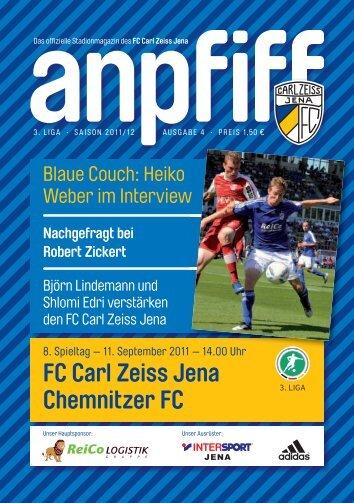 FC Carl Zeiss Jena Chemnitzer FC