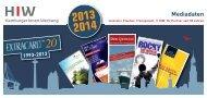 Hier können Sie unsere neuen Mediadaten 2013/2014 - extracard