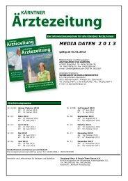 Ärztezeitung - Ärztekammer für Kärnten