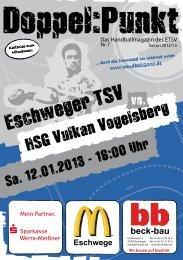 HSG Vulkan Vogelsberg - Eschweger TSV