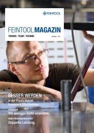 das neue Magazin entdecken - Feintool
