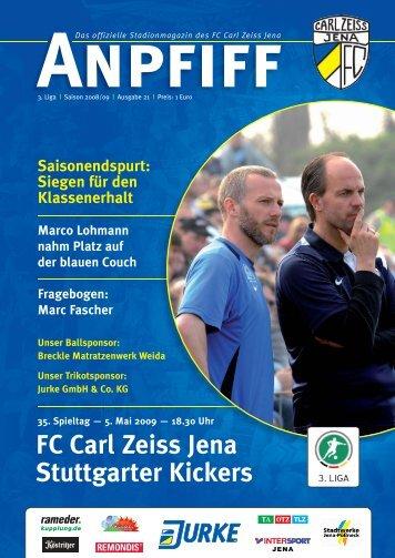 FC Carl Zeiss Jena Stuttgarter Kickers