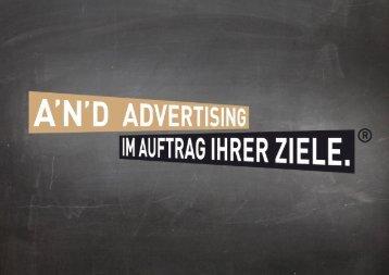 and advertising stellt sich vor