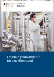 Forschungsinfrastruktur für den Mittelstand - FuE-Foerderung.de