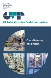 Peter Nyhuis Rouven Nickel Knut Tullius (Hrsg.) - GVP