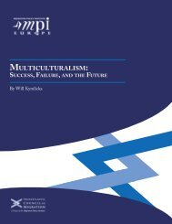 Multiculturalism: Success, Failure, and the Future - Migration Policy ...
