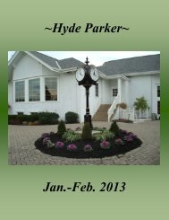 View the Newsletter here! - Hyde Park Golf and Country Club