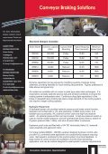 NEPEAN Conveyors - Conveyor Braking Solutions - Page 2